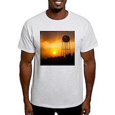 Water Tower Sunset T-Shirt