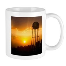 Water Tower Sunset Mug