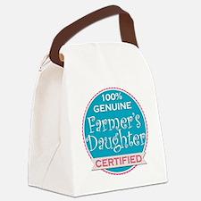 Cute Farmer Canvas Lunch Bag