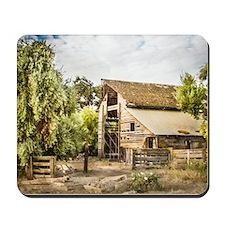 The Old Barn Mousepad