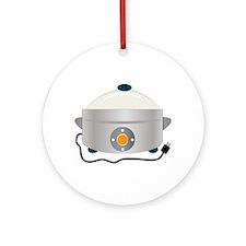 Electric Crock Ornament (Round)