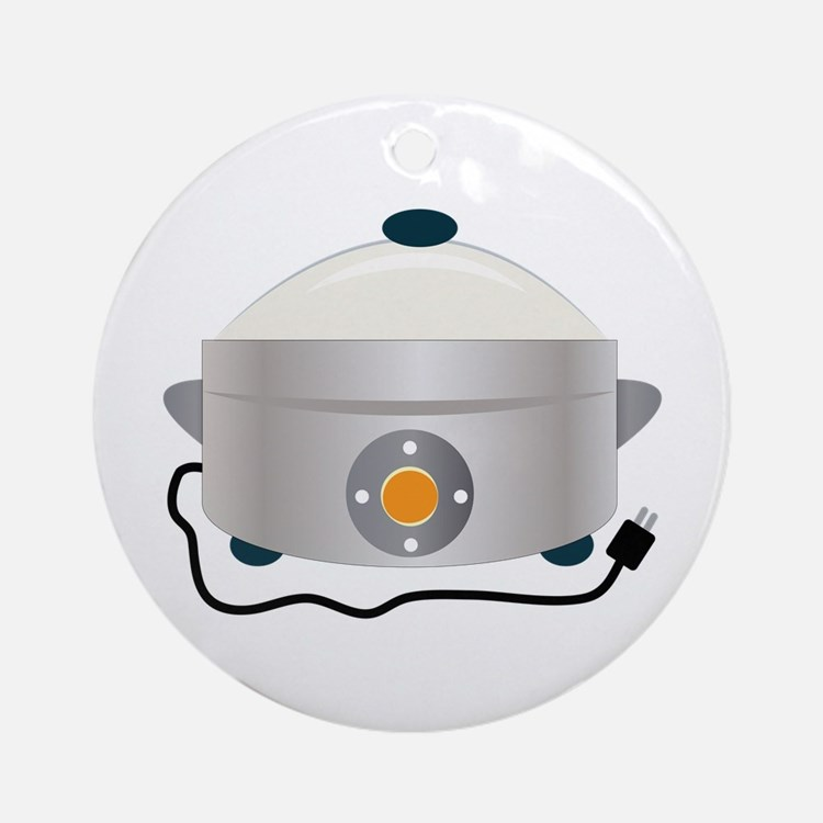 Electric Crock Ornament (Round)