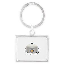 Electric Crock Keychains