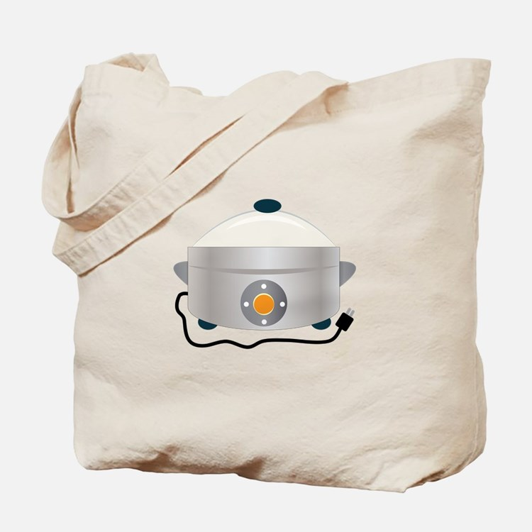 Electric Crock Tote Bag