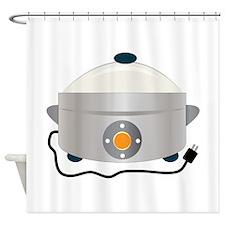 Electric Crock Shower Curtain