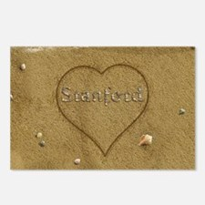 Stanford Beach Love Postcards (Package of 8)