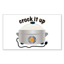 Crock it Up Decal