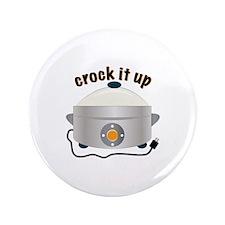 "Crock it Up 3.5"" Button (100 pack)"