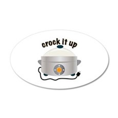 Crock it Up Wall Decal