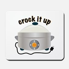 Crock it Up Mousepad