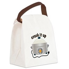 Crock it Up Canvas Lunch Bag