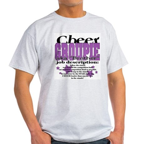 Cheer Groupie Brother Light T-Shirt