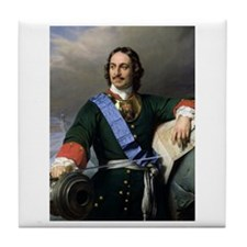 Peter The Great Tile Coaster