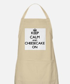 Keep Calm and Cheesecake ON Apron