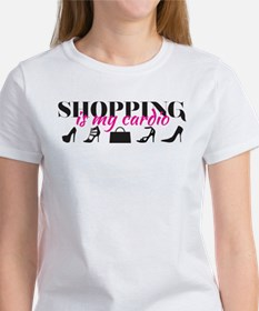 SATC: Shopping Is My Cardio Women's T-Shirt