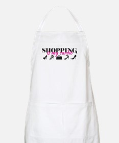 SATC: Shopping Is My Cardio Apron