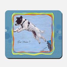 Portuguese Water Dog Got Wate Mousepad