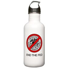 End The Federal Reserv Water Bottle