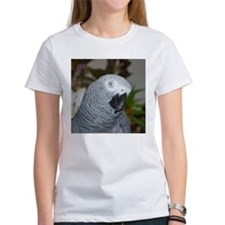 Profile of a Grey T-Shirt