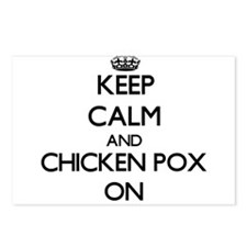Keep Calm and Chicken Pox Postcards (Package of 8)