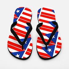 Puerto Rican Flag Boricua Pahtay 23 Flip Flops