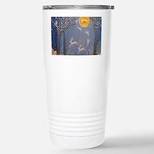 Dance of the moon hares Travel Mug