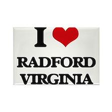 I love Radford Virginia Magnets