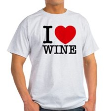 I Love Wine T-Shirt