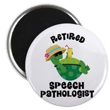 Retired Speech Pathologist Magnets