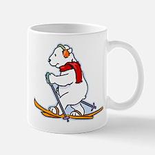 Polar Bear Skiing Mugs