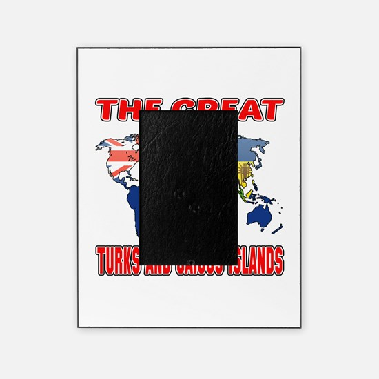 The Great Turks and Caicos Islands Picture Frame