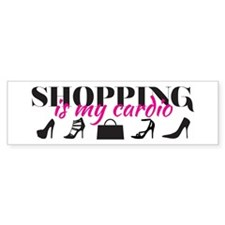 SATC: Shopping Is My Cardio Bumper Bumper Sticker