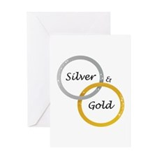 Silver & Gold Greeting Cards