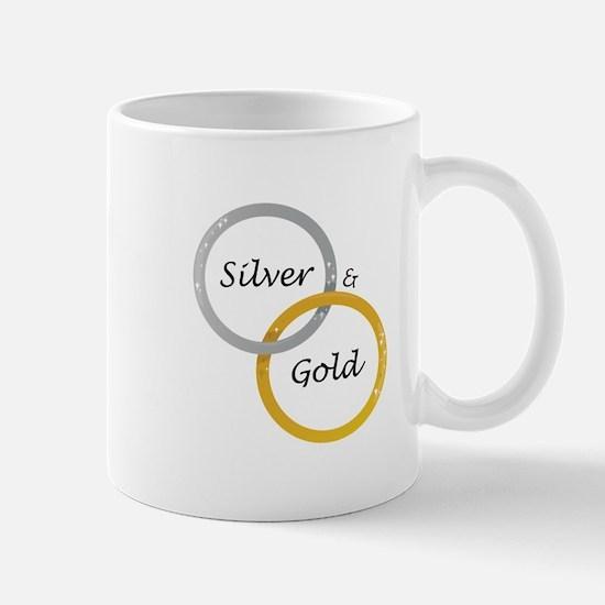Silver & Gold Mugs
