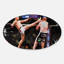 Mixed Martial Arts - A Kick to the Head Decal