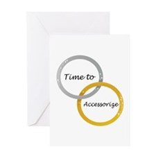 Time to Accessorize Greeting Cards