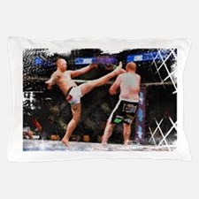 Mixed Martial Arts - A Kick to the Hea Pillow Case