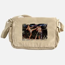 Mixed Martial Arts - A Kick to the H Messenger Bag