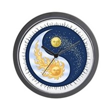 Sun-Moon Wall Clock