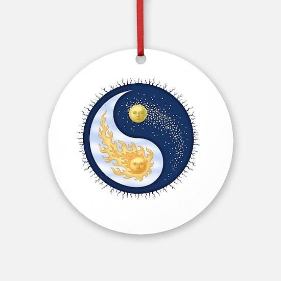 Sun-Moon Ornament (Round)