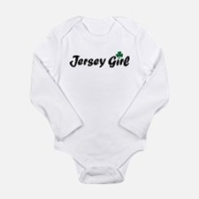 Funny St patricks new jersey Long Sleeve Infant Bodysuit