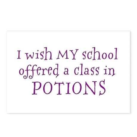 Class in potions Postcards (Package of 8)