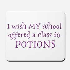Class in potions Mousepad
