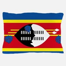 Swaziland flag Pillow Case