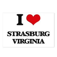 I love Strasburg Virginia Postcards (Package of 8)