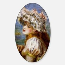 Renoir - Girl in a Lace Hat Decal
