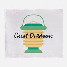Great Outdoors Throw Blanket