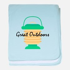 Great Outdoors baby blanket