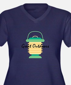 Great Outdoors Plus Size T-Shirt