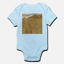 Sienna Beach Love Infant Bodysuit